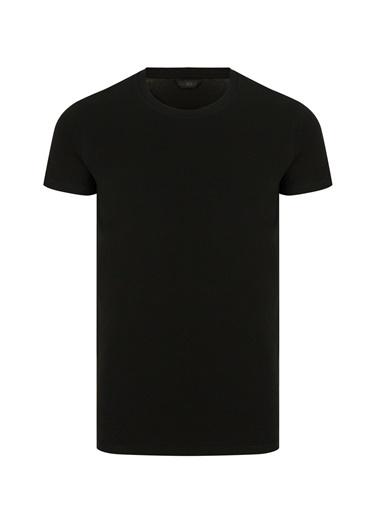Penti Siyah Basic Slim 2Li Tişört Siyah